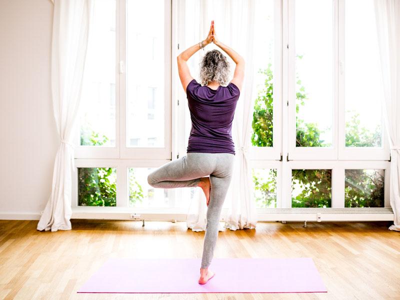 Yogalehrerin in Potsdam